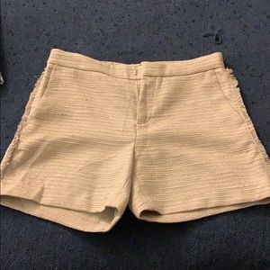 Cream color shorts
